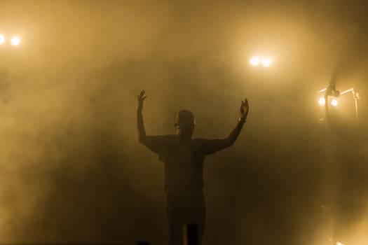 Silhouette Black People Free Photo