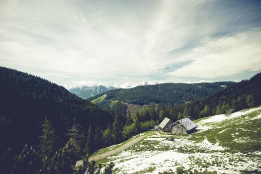 Mountain Valley Landscape #12618