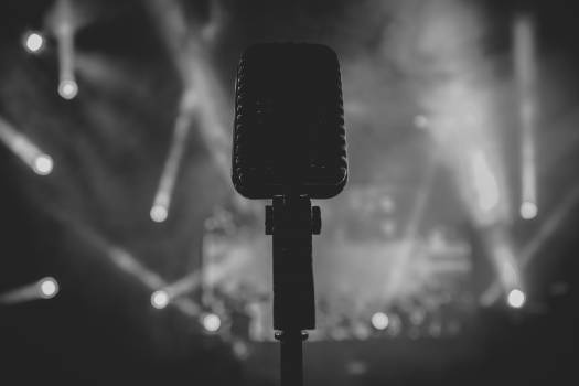 Microphone Electrical device Plug Free Photo