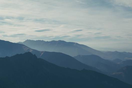 Mountain Range Landscape #12668