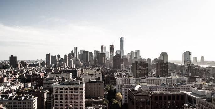 City Manhattan Skyline #12750