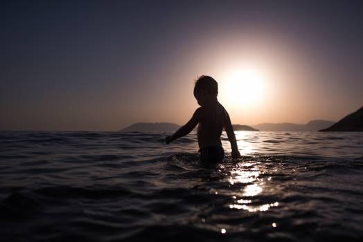 Beach Sunset Sea #12790