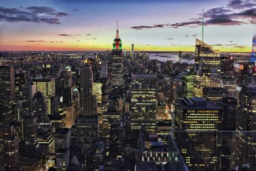 City Manhattan Skyline #12815