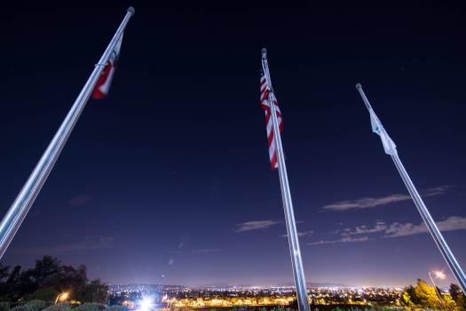 Flagpole Position Staff Free Photo