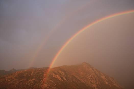 Rainbow Bow Sky #12967