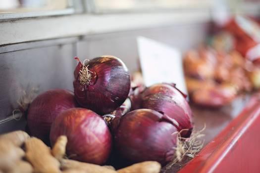 Purple onion Onion Vegetable Free Photo