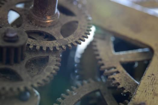 Gear Mechanism Gearing Free Photo