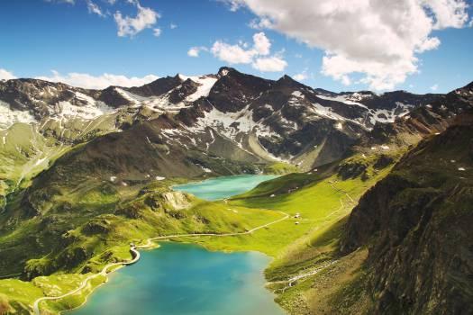 Landscape Mountain Water #13061