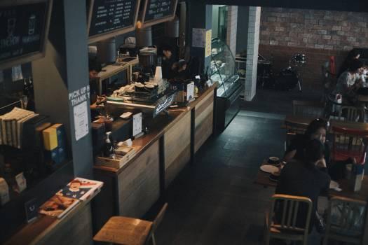 Home Cafe Interior Free Photo