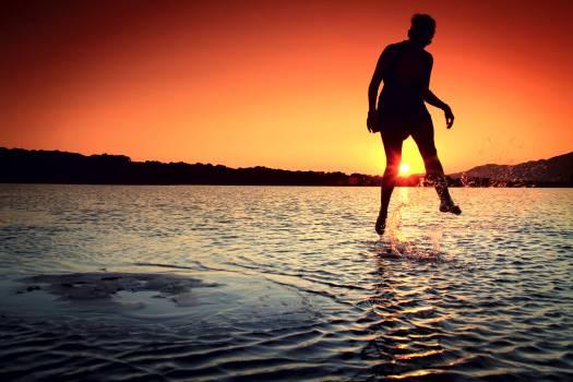 Beach Sunset Sea #13339