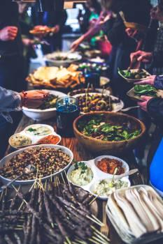 Banquet Meal Dinner #13397