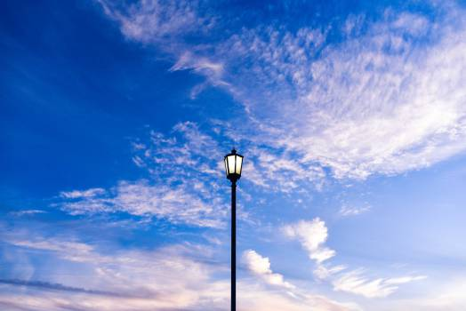 Turbine Pole Sky #13477