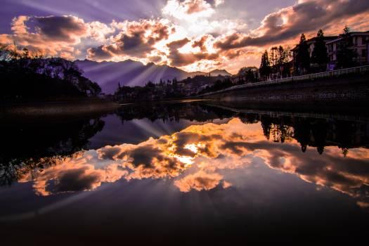 Landscape Sky Clouds Free Photo