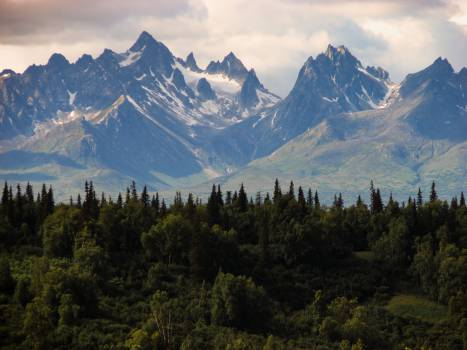 Mountain Range Valley #13579