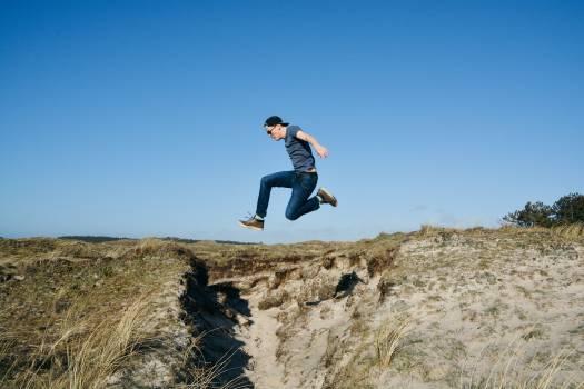 Jump Sky Jumping Free Photo