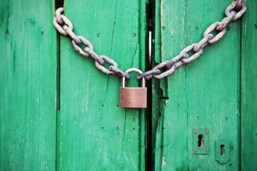 Padlock Lock Fastener #13818