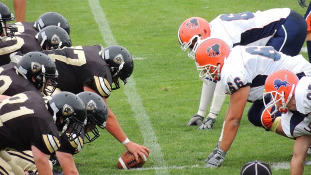 Football Back Football helmet #13983