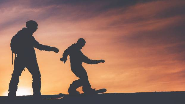 Skate Jump Silhouette Free Photo