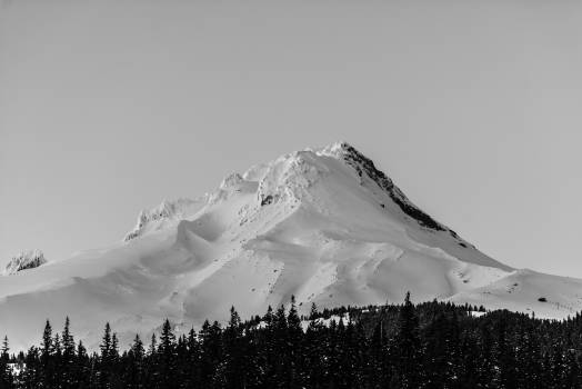 Mountain Volcano Snow #140402