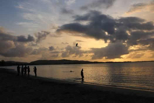 Beach Sunset Water #141650