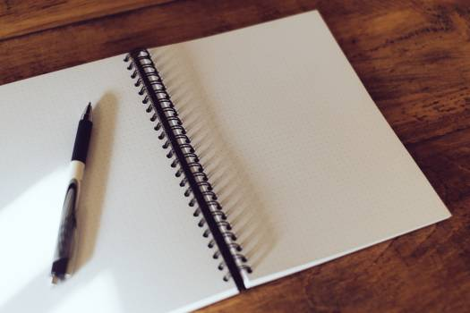 Notebook Paper Note Free Photo