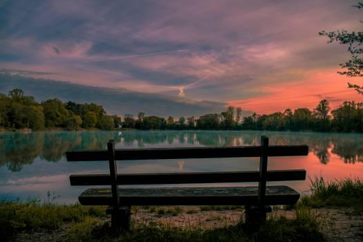Bench Park bench Railing Free Photo