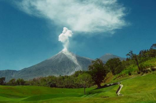Mountain Volcano Natural elevation #14364