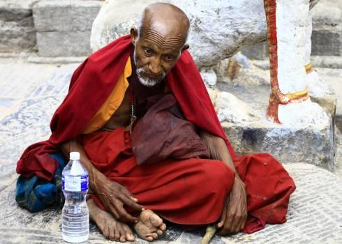 Religious Buddhist Monk Free Photo