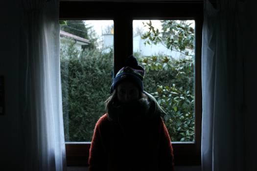 Windowsill Covering Robe Free Photo