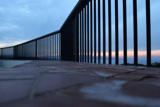 Railing Barrier Sky Free Photo