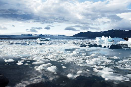 Snow Glacier Sky #14448