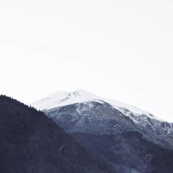 Mountain Snow Mountains Free Photo