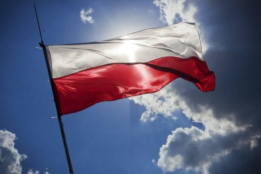 Emblem Flag Flagpole #14634