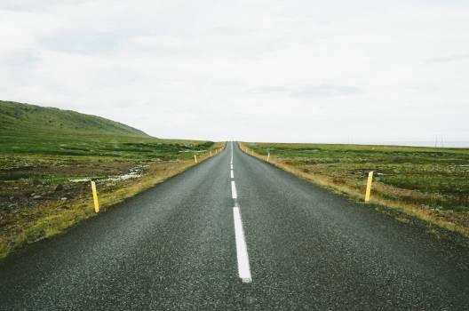 Asphalt Road Landscape #14741