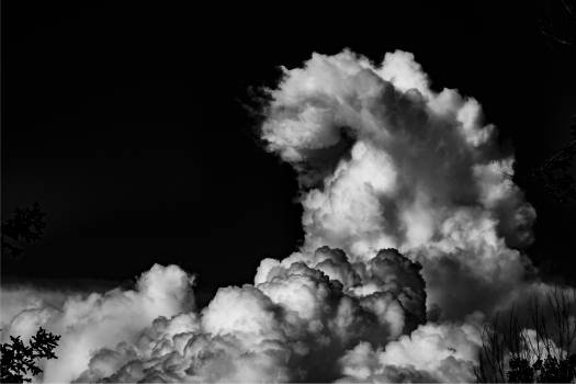 Smoke Cloud Volcano Free Photo