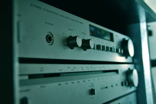 Electronic equipment Equipment Radio Free Photo
