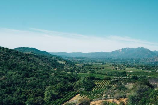 Mountain Landscape Valley #15028