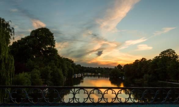Sky Landscape Track Free Photo