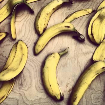 Edible fruit Produce Banana #15116