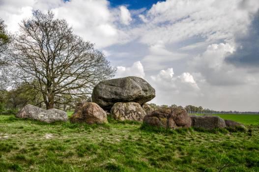 Rock Megalith Marker #15140