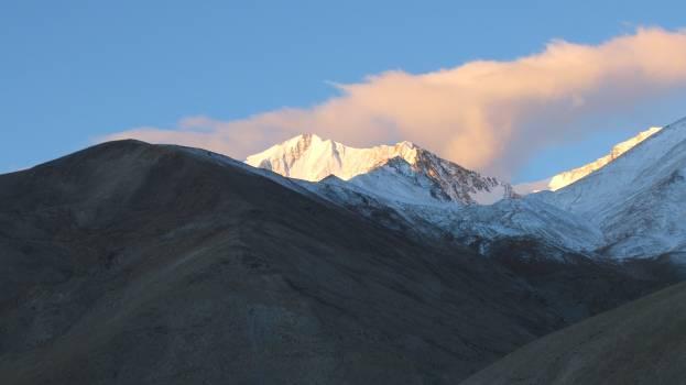 Range Mountain Snow Free Photo