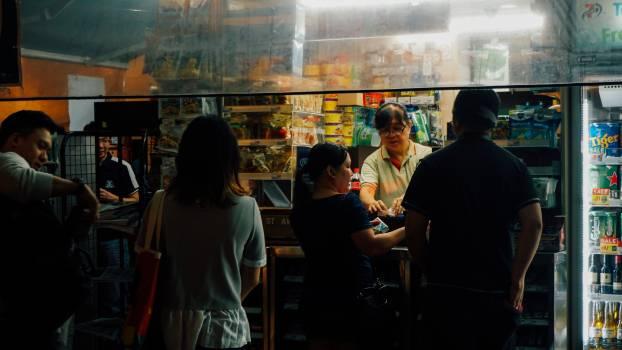 People Cafe Man #152611