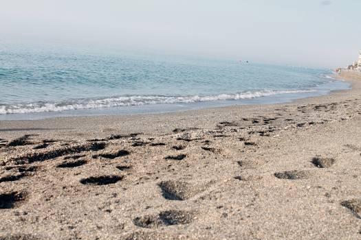 Beach Sand Ocean #15296
