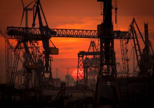 Crane Equipment Industry Free Photo
