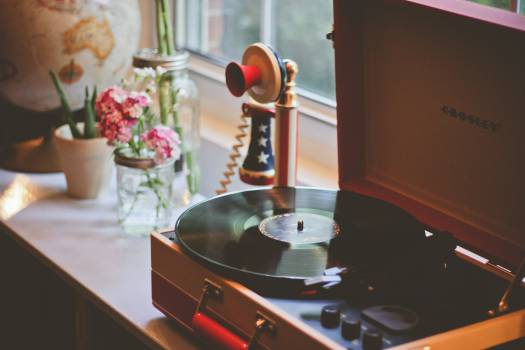 Pan Table Gramophone #154623