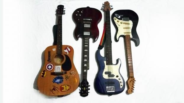Guitar Stringed instrument Musical instrument Free Photo
