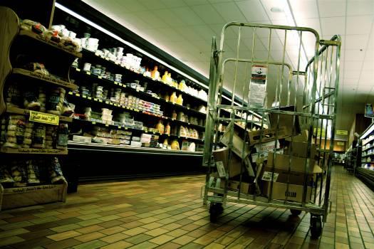 Grocery store Supermarket Marketplace Free Photo