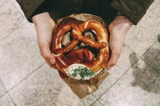 Pretzel Cracker Bread Free Photo