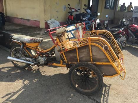 Skeleton Vehicle Wheelchair Free Photo