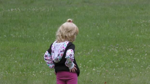 Grass Child Park Free Photo